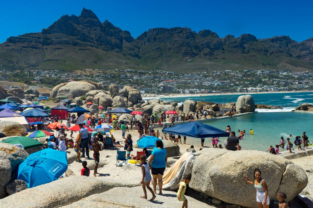 Camps Bay, Cape Town, South Africa, beach