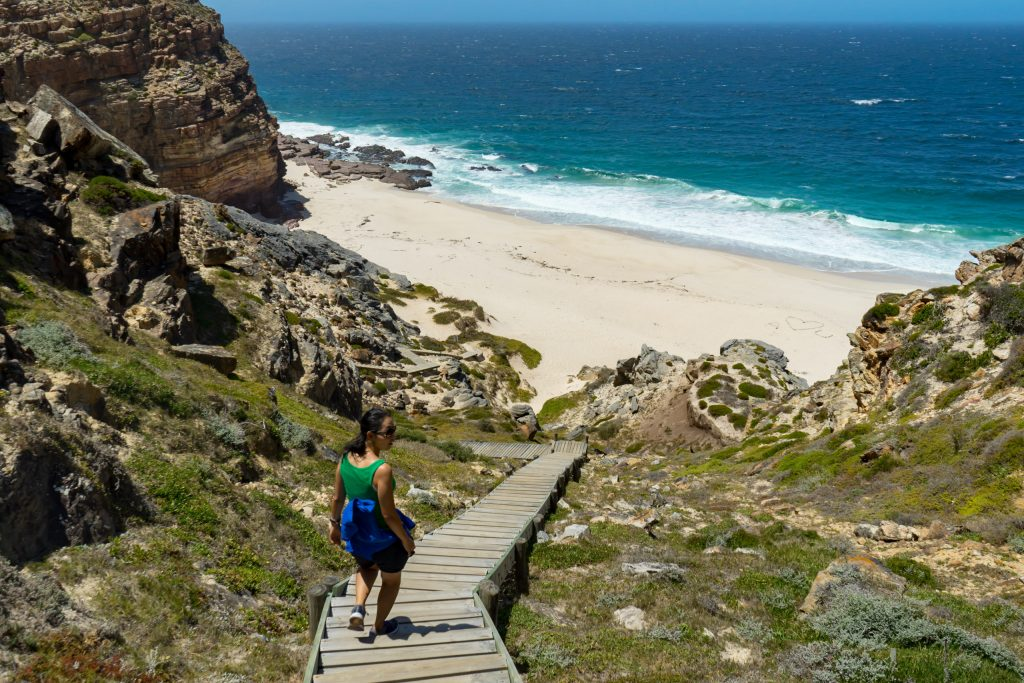 Gods Beach at Cape Point National Park visited while house sitting in South Africa