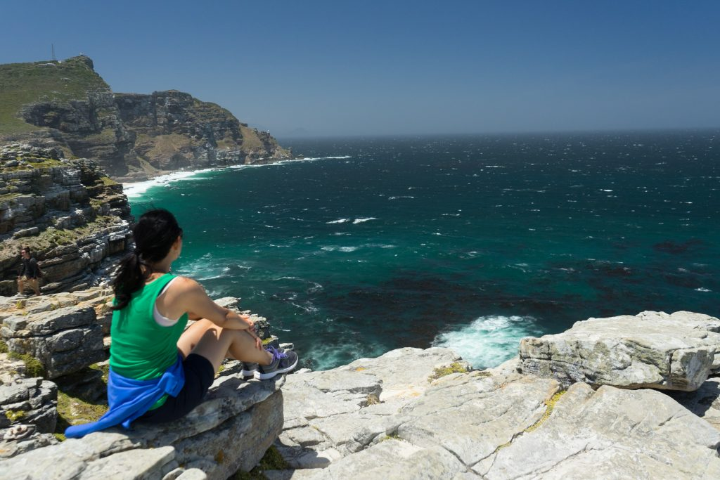 Views at Cape Point National Park visited while House sitting in South Africa