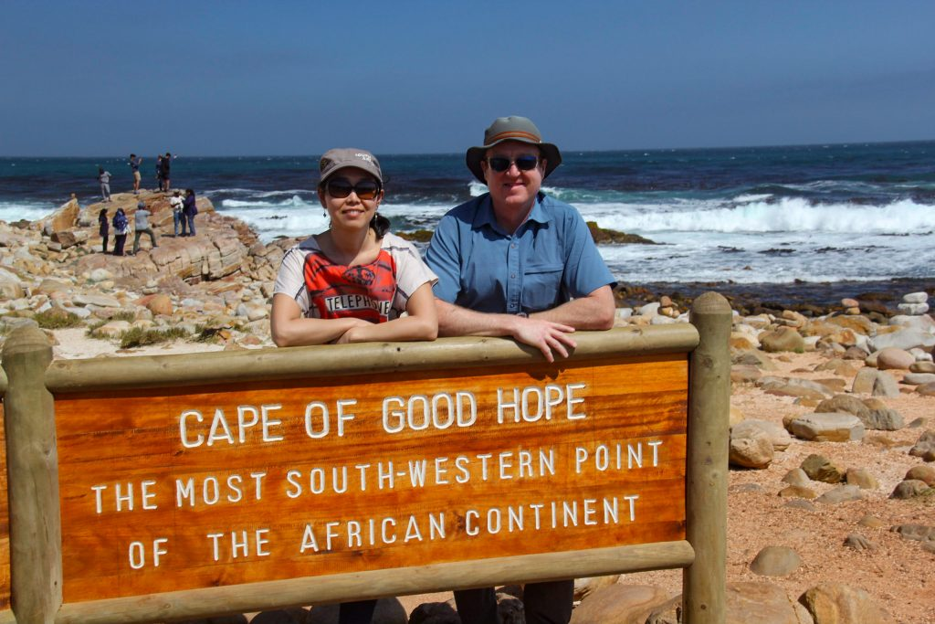 Cape of Good Hope sign House sitting in South Africa