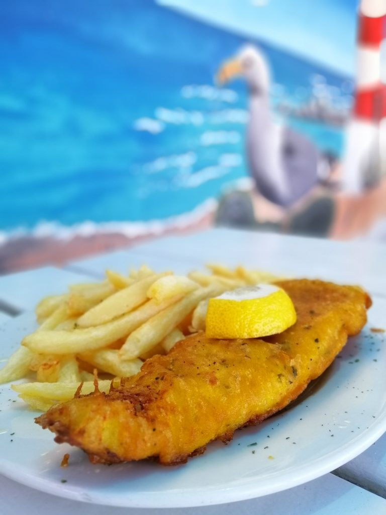Fish and Chips, Velddrif, West Coast of South Africa