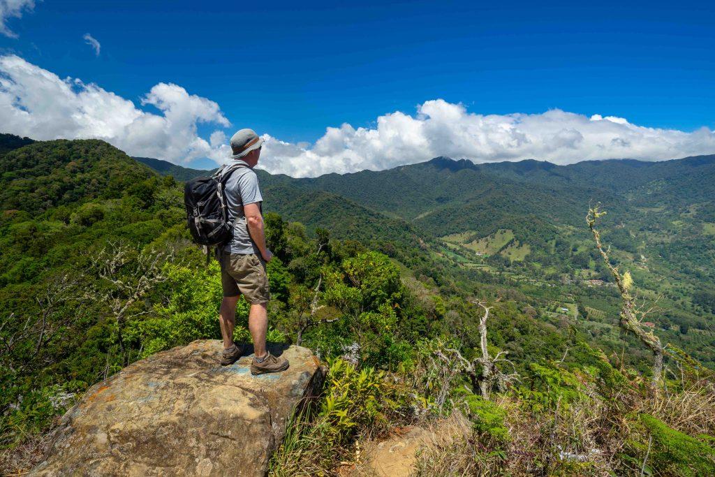 Hiking the Piedro Del Lina trail in Boquete, Panama Quarantine in Panama for Covid-19
