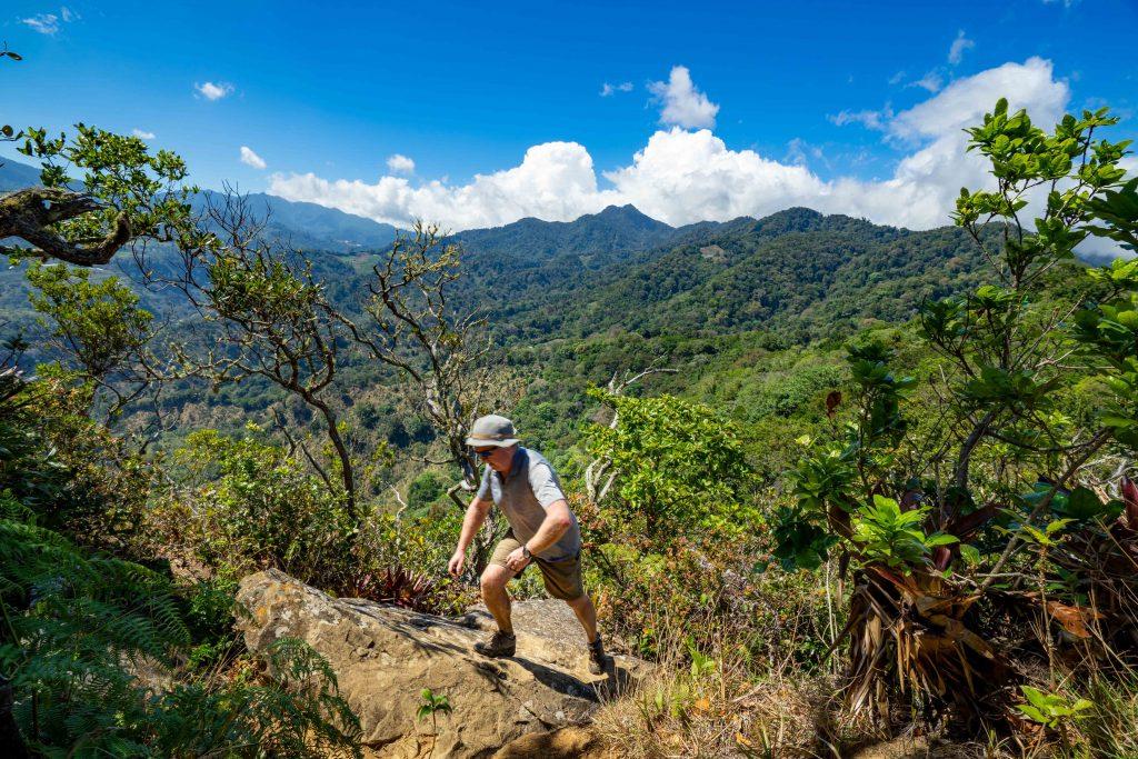 mountains, hiking, rocks, Boquete, Panama, La Piedra DE Lino