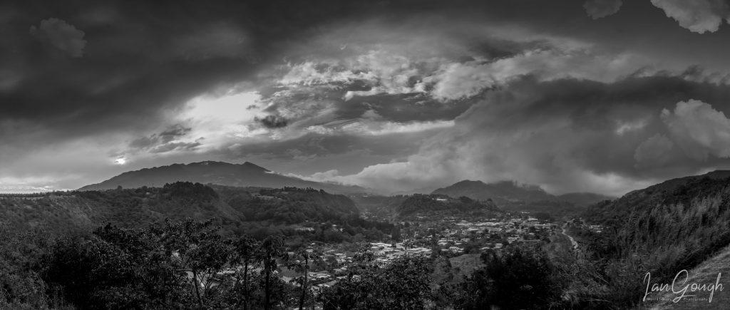 Boquete, Panama, Volcan Baru, panorama