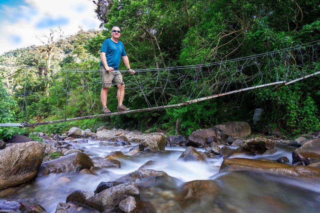 Boquete Tree Trek, bridge, river