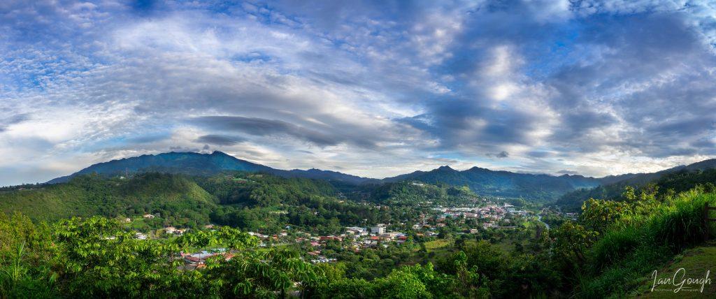 Sunrise in Boquete, Panama