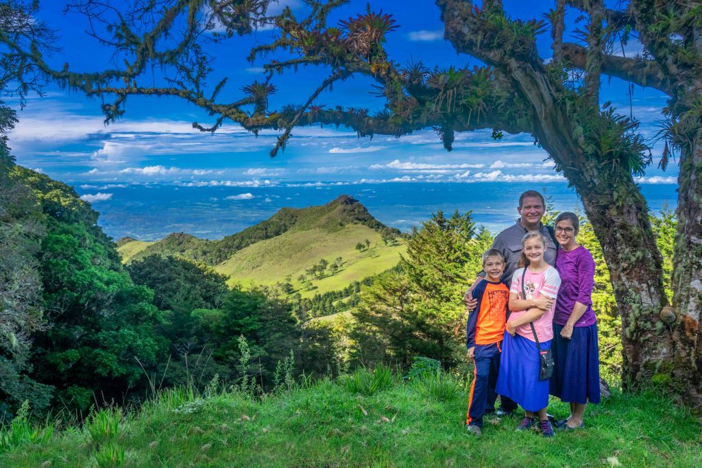 hiking, family, Boquete, Panama
