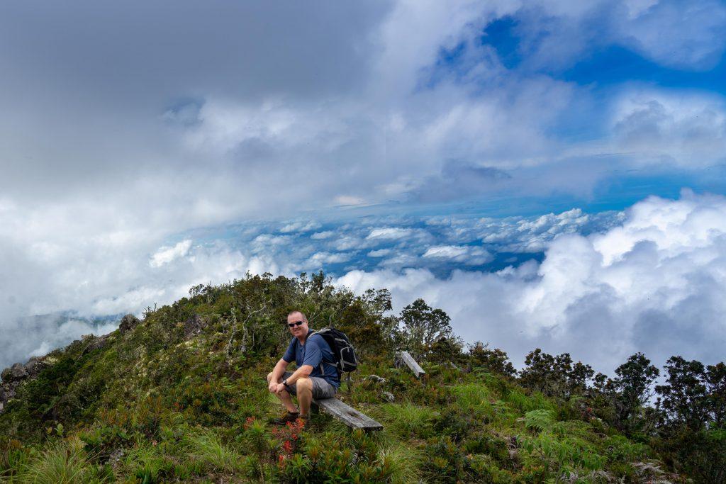 mountain, clouds, summit, view, Boquete, Panama, hiking