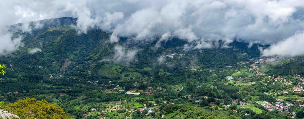 Boquete, Panama, valley, viewpoint