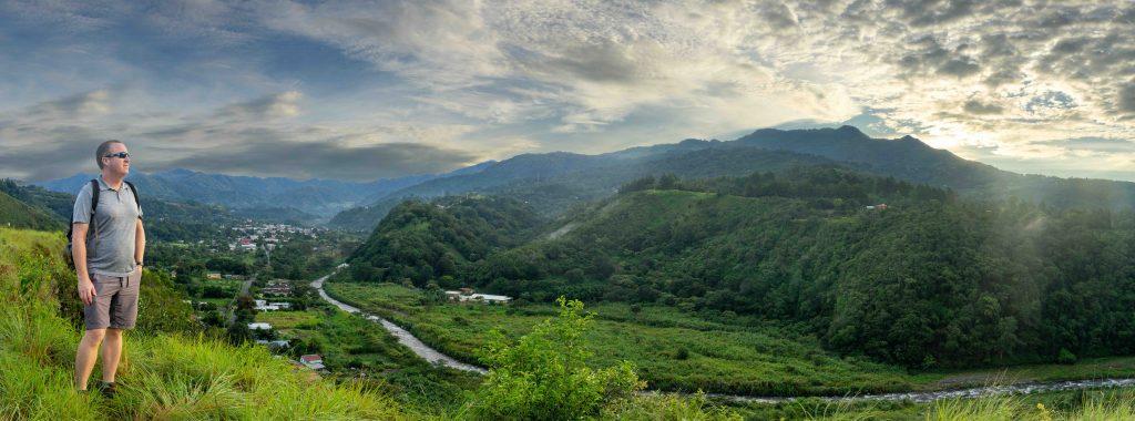 CEFTA, Boquete, Panama, sunrise, panorama