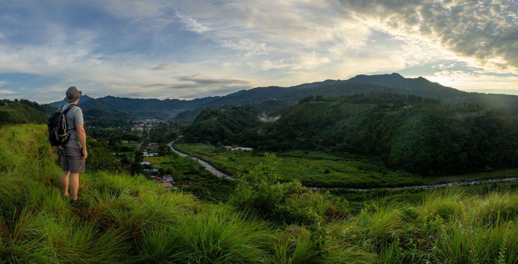 CEFTA, Boquete, Panama, sunrise, visitors center, panorama