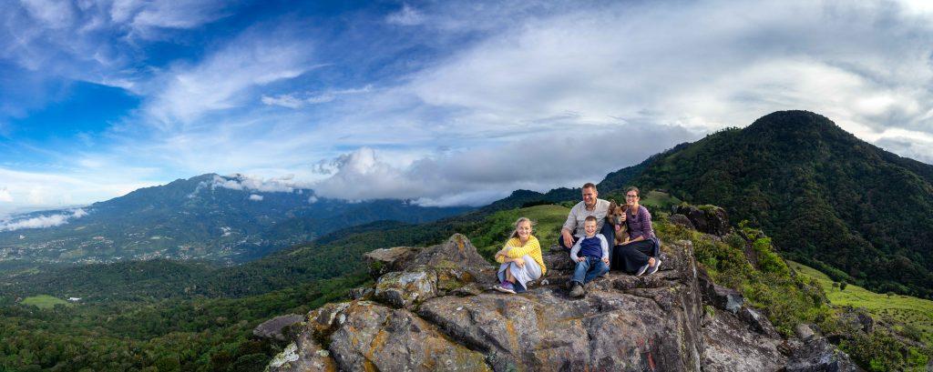 Artillery Hill, Cerro La Artilleria, map Boquete, Panama, hiking, trail, summit