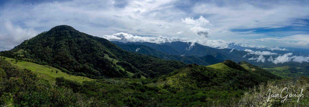 Artillery Hill, Cerro La Artilleria, Boquete, Panama, hiking, trail, summit