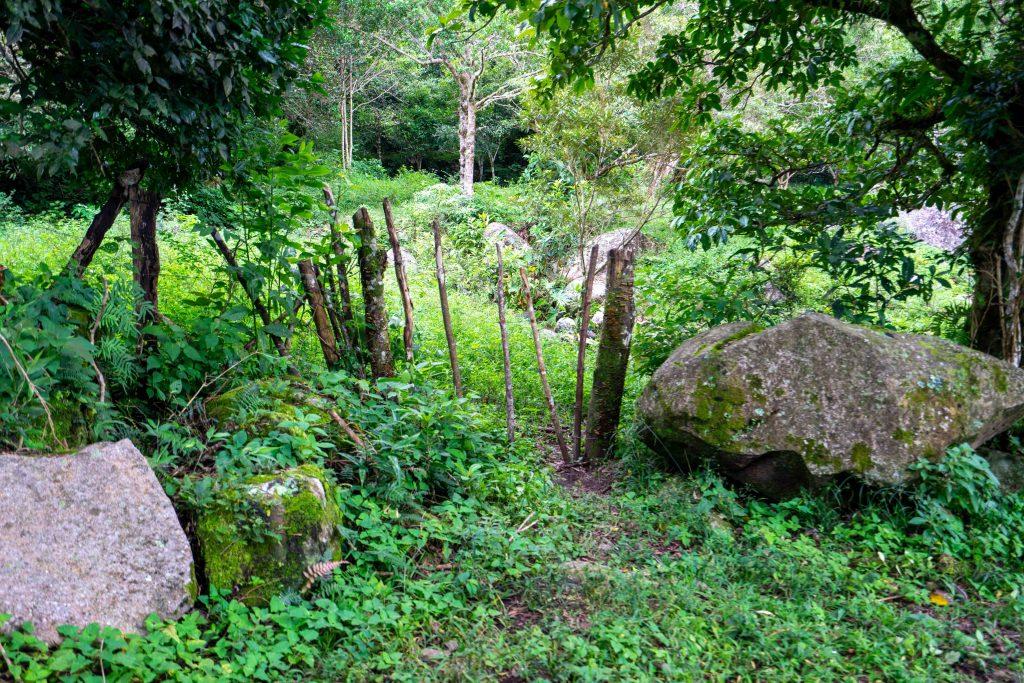 Entrance to La Piedra de la India Vieja, gate