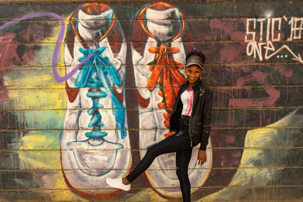 street art, Nairobi, Kenya, railway museum, trains