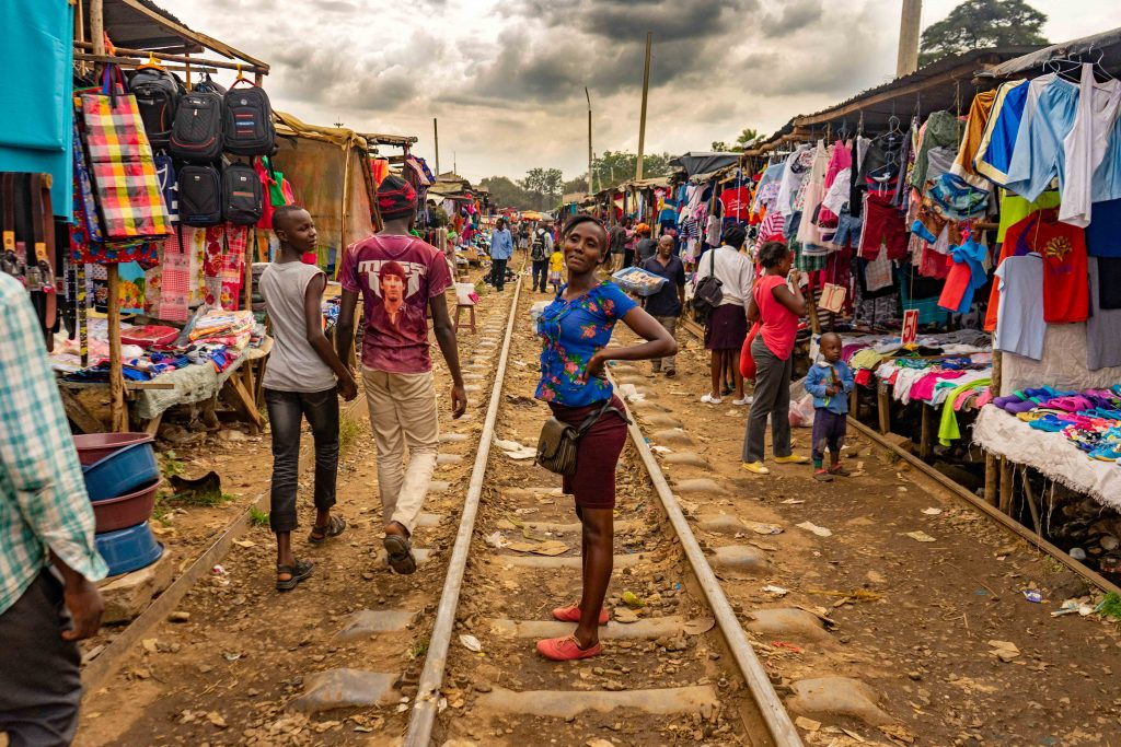 slums, Kibera, Nairobi, Kenya