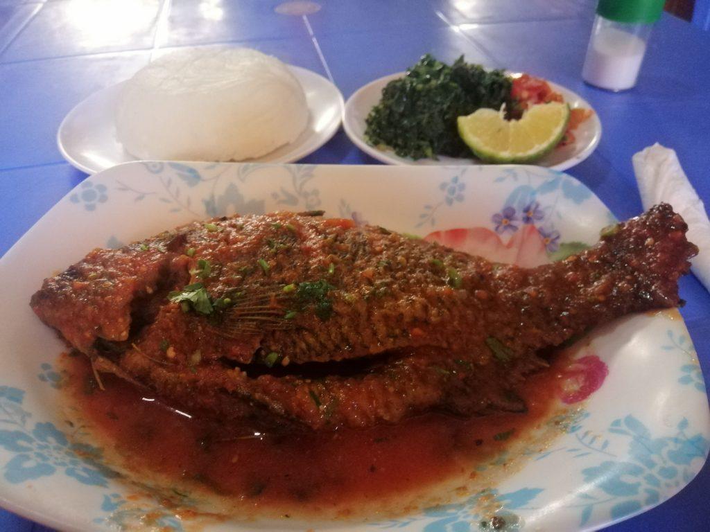 lunch, fish, Nairobi, Kenya