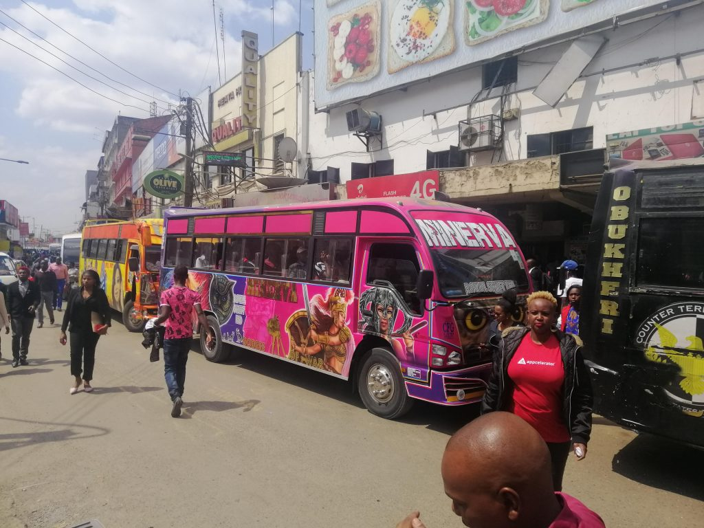 matatu, Nairobi, Kenya
