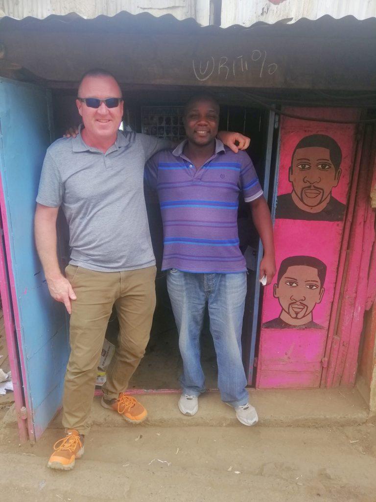 barbershop, Toi Market, Nairobi, Kenya