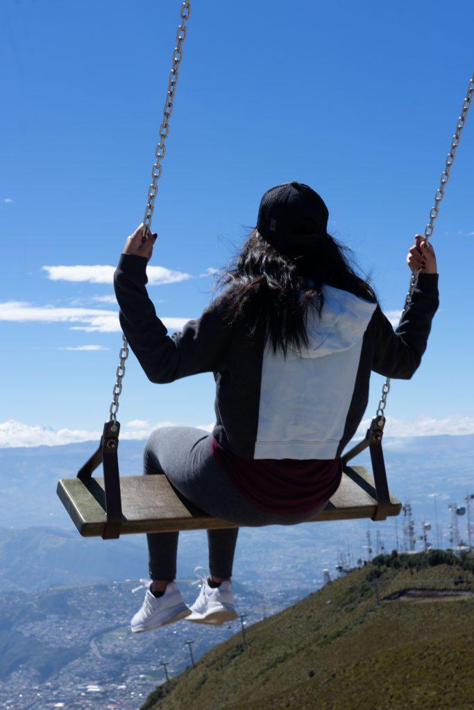 Instagram, swing, teleferiqo, Quito, Ecuador