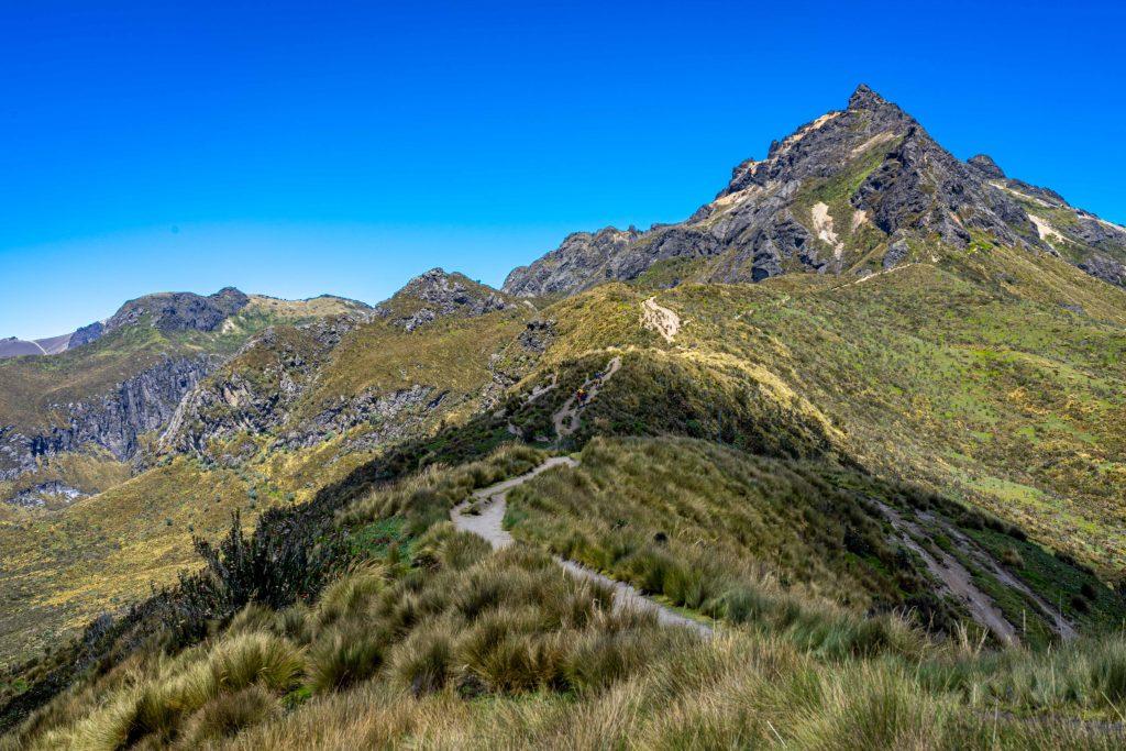 Ruca Pichincha, Quito, Ecuador, hiking, trail