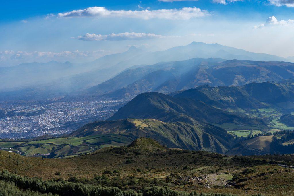 viewpoint, Quito, Ecuador, teleferiqo, hiking, ruca pichincha