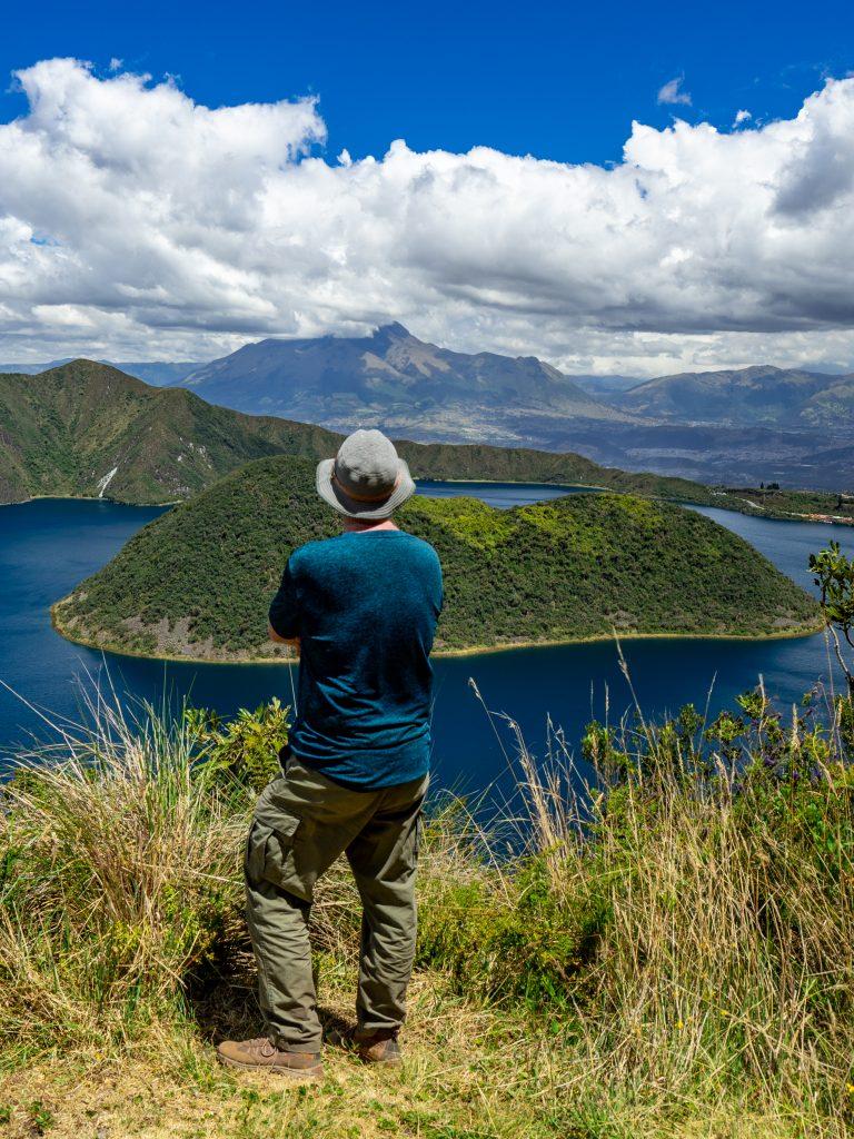 otavalo, Ecuador, Cuicocha, hiking, COVID-19,