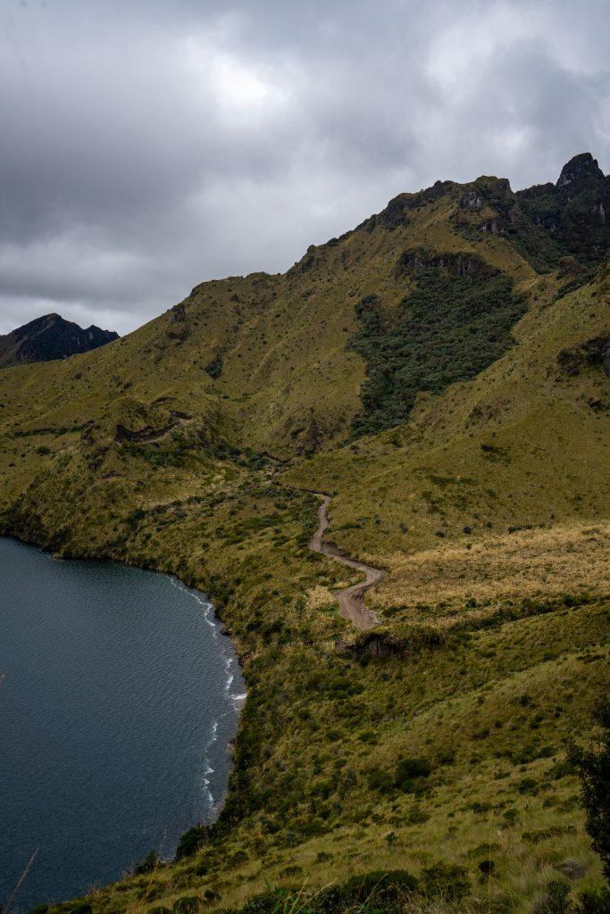 Laguna de Mojanda, Fuya Fuya, Otavalo, Ecuador, hiking, trail, lake, volcano