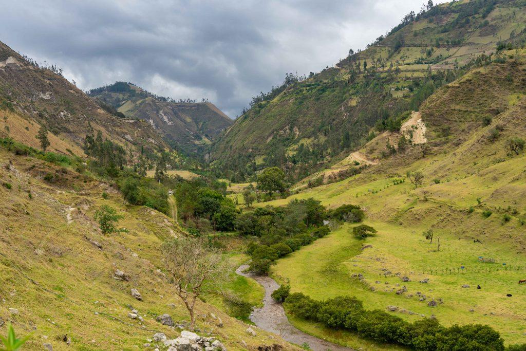 Toachi Canyon, Quilotoa Loop, Sigchos, hiking, Ecuador, Isinlivi
