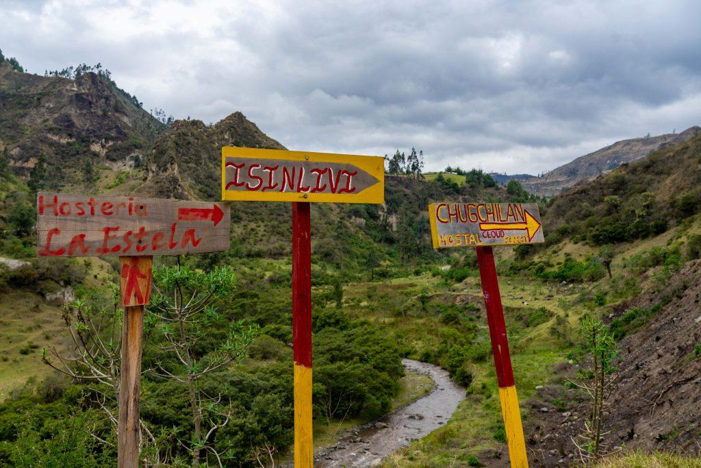 Quilotoa Loop, Sigchos, hiking, Ecuador, Isinlivi