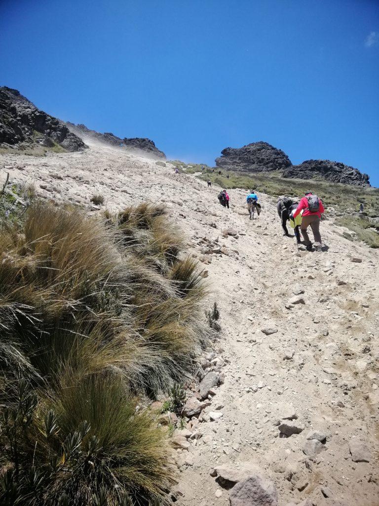 Ruca Pichincha, hiking, Quito, Ecuador
