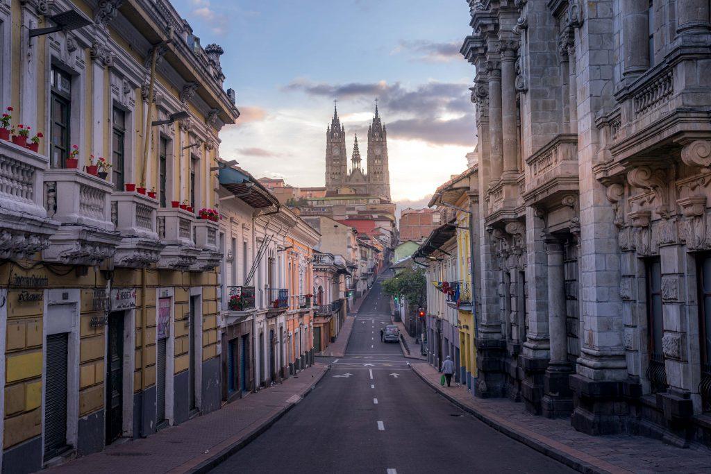 Quito , Ecuador, streets, empty, COVID-19