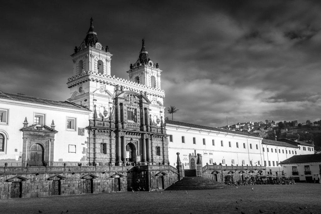 Quito, Ecuador, church, plaza
