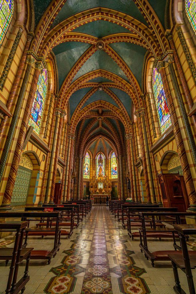 Quito, Ecuador, church, COVID-19