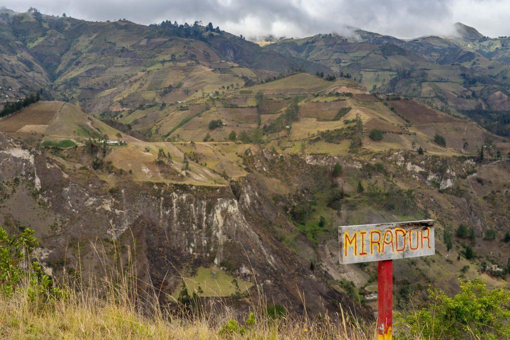 mirador, viewpoint, Quilotoa Loop