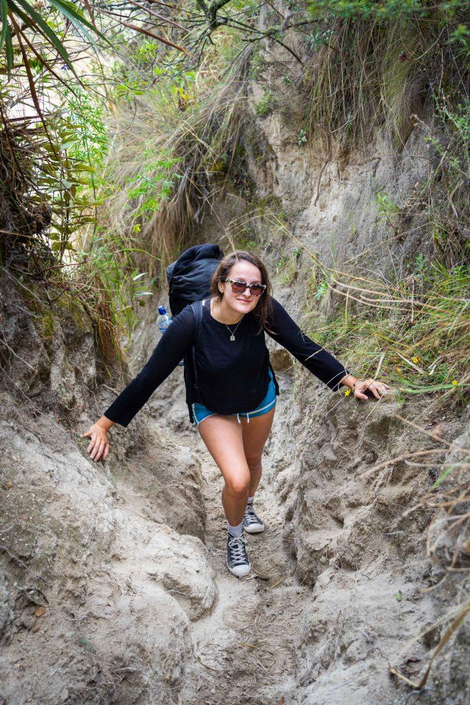 hiking, Quilotoa Loop, Ecuador
