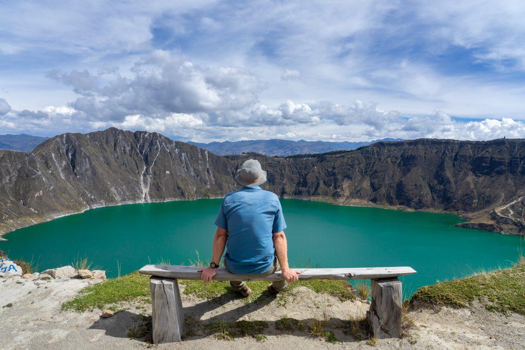 Laguna de Quilotoa, hiking, Ecuador