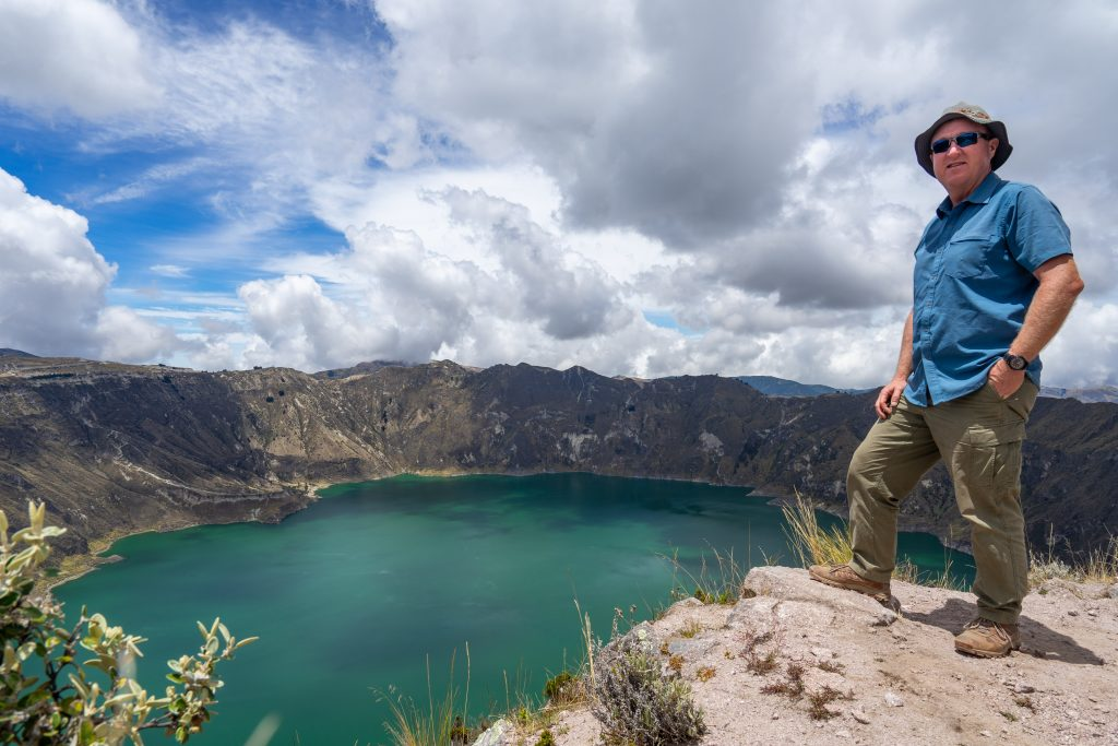Laguna de Quilotoa, hiking, Ecuador, Vuelta al Crater, Monte Juyende