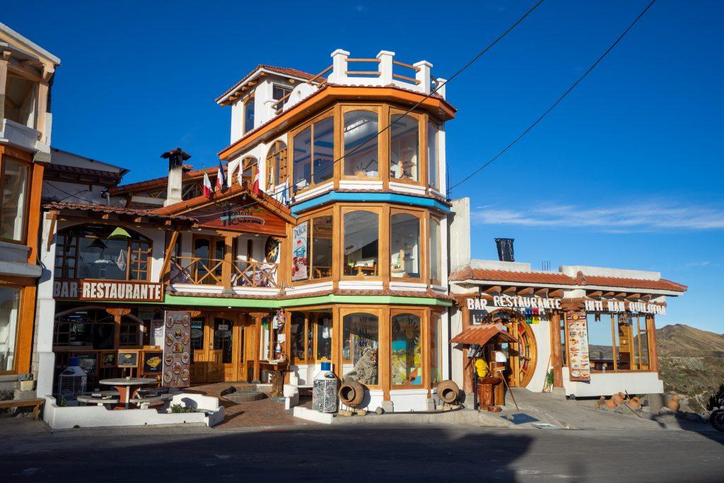 Quilotoa, Ecuador, Hostal Churikawa