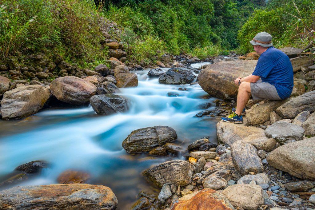 Baños, Ecuador, hiking, river, COVID-19