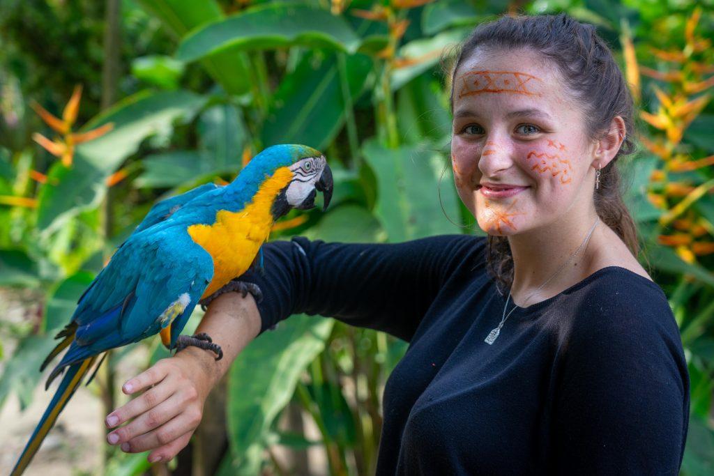 Tena, Ecuador, parrot, jungle