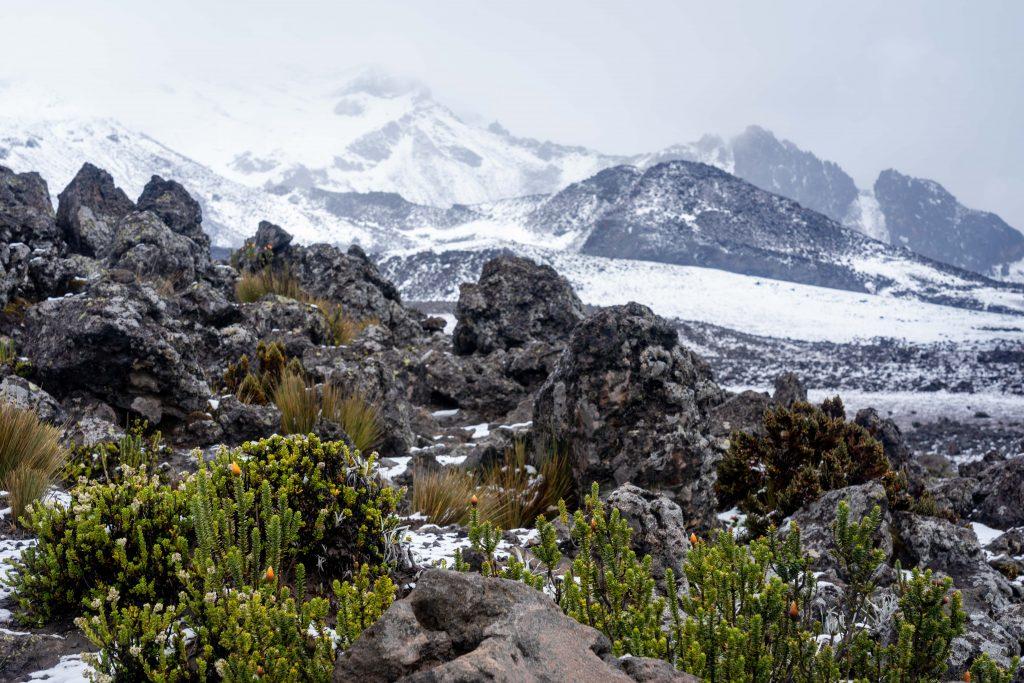 Volcan Chimborazo, Riobamba, Ecuador, volcano