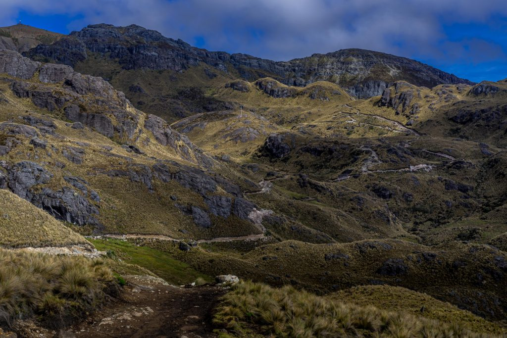 hiking, Cuenca, Ecuador, Cajas National Park, Parque Nacional Cajas