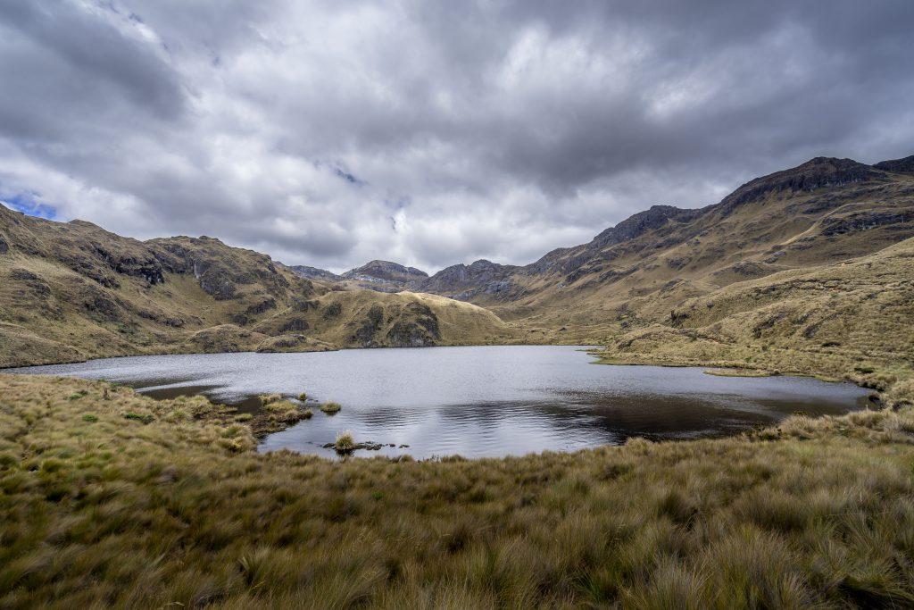 hiking, Cuenca, Ecuador, Cajas National Park, Parque Nacional Cajas, lake
