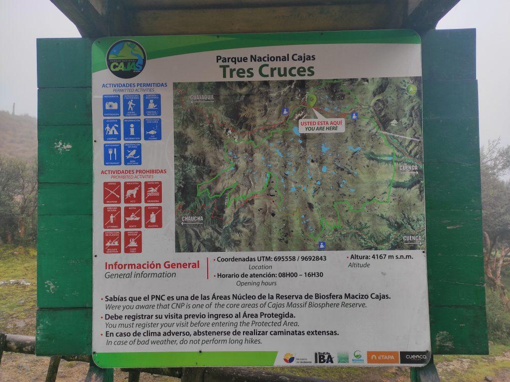 hiking, Cajas National Park, Parque Nacional Cajas, Cuenca, Ecuador, Route 4