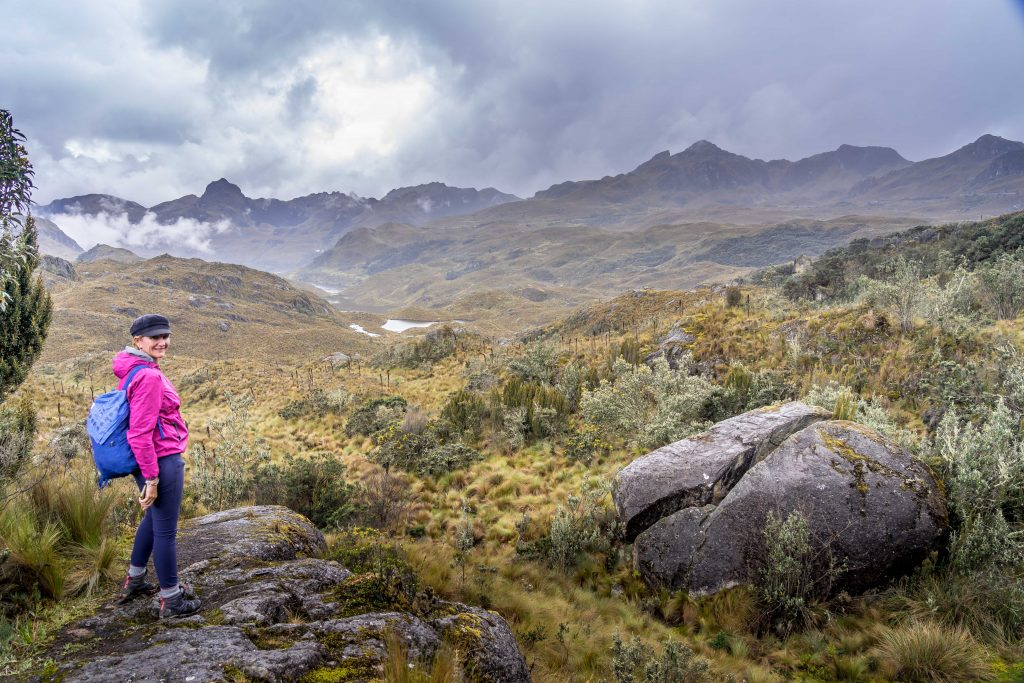 Cajas National Park, Parque Nacional  Cajas, hiking, Cuenca, Ecuador